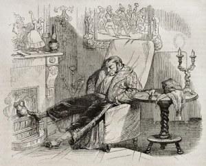 hombre durmiendo en un sillon